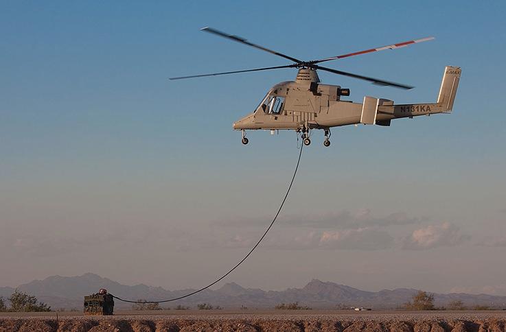 Elicottero Kaman K Max : Elicottero senza pilota k max presentato all u s marine