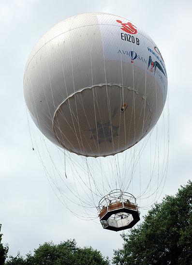Dopo 229 anni una mongolfiera tornata al bal n di torino for Balon torino