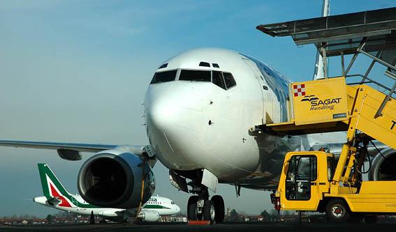Turin Airport's Traffic Data 2012