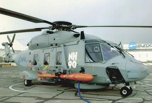 Elicottero A Reazione : Mbda presenta il sistema d arma antivave marte mk n